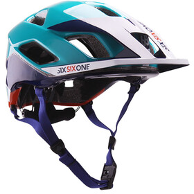 SixSixOne EVO AM MIPS Helm orange/blue